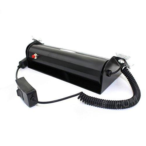 Generic 8W 380Lm 8-Led Blue/Red Light Car Visor Dashboard Emergency Strobe Light - (Dc 12V)