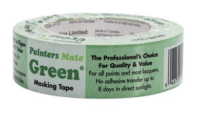 "Painter'S Mate Masking Tape 1.88 "" X 60 Yard Green"