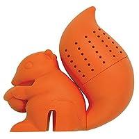 DCI Tea Infuser, Squirrel Tea Infuser, Orange