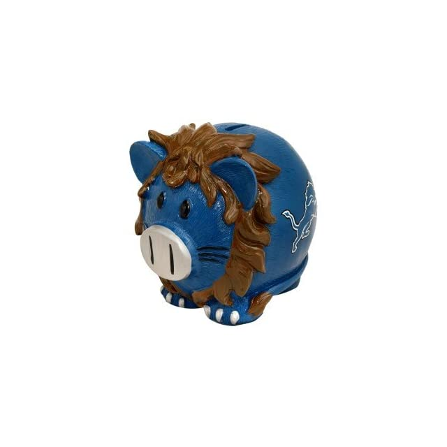 Detroit Lions Small Thematic Piggy Bank