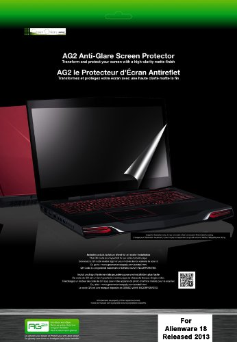Review Green Onions Supply AG2-2013 Anti-Glare Screen Protector for Alienware 18-2013