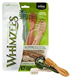 Paragon Whimzees Toothbrush Star Dental Treat for Medium Dogs, 17 Per Bag