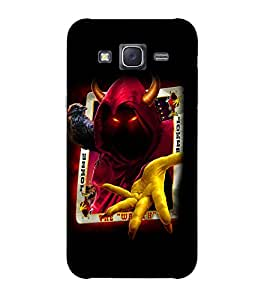 Doyen Creations Designer Printed High Quality Premium case Back Cover For Samsung Galaxy J3