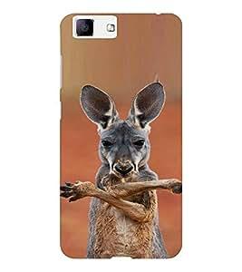 EPICCASE kangaroo cool Mobile Back Case Cover For Vivo X5 (Designer Case)