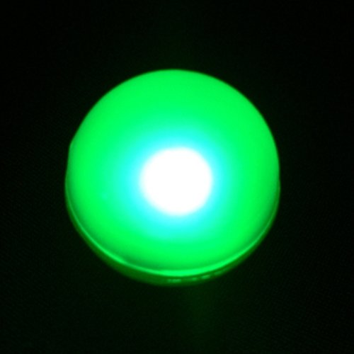 Fairy Berries, Tiny Round Led Lights, Water Resistant, 10 Pack, Green
