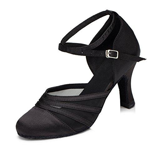 minitoo-l189-donna-rete-raso-scarpe-da-danza-latina-salsa-nero-black-35-eu