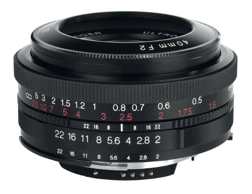 Voigtlander Ultron SL II F2/40 mm Lens for Canon EOS