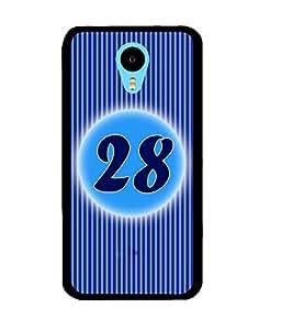 Fuson 2D Printed Numerology Designer back case cover for Meizu M1 Note - D4248