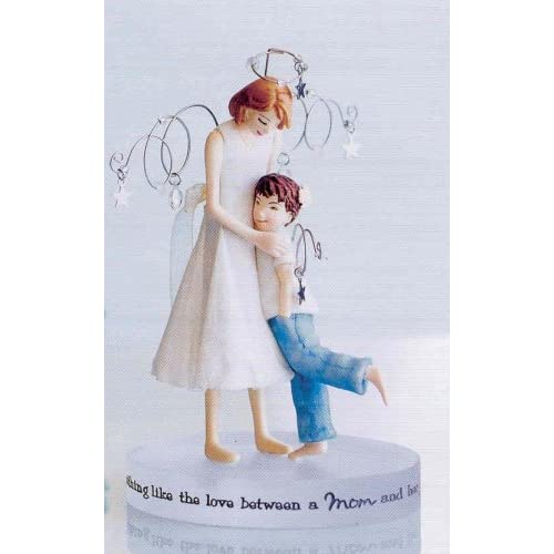 Amazon.com - HALLMARK DOWN TO EARTH ANGELS ANE1523 MOTHER AND SON -