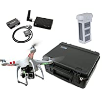 DJI Phantom 2 Base Mapping Bundle Silver Edition By Drones Made Easy (GoPro Hero3+ Silver)