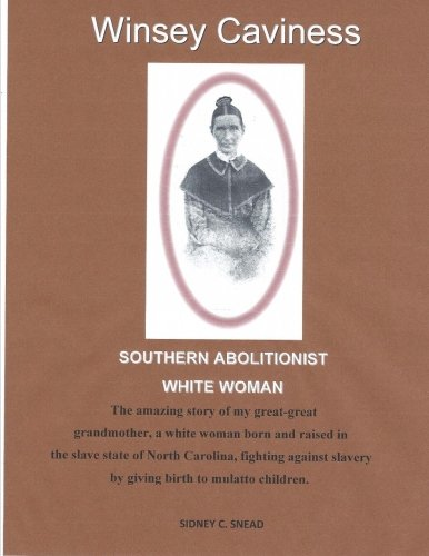 Southern Abolitionist White Woman PDF