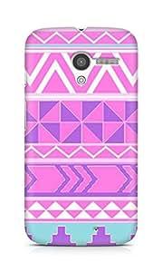 Amez designer printed 3d premium high quality back case cover for Motorola Moto X (Pattern 4)