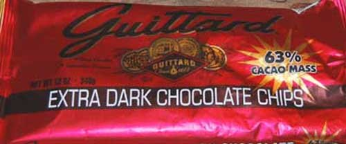 E Guittard 63% Extra Dark Chocolate Chip, 11.5-Ounce (Pack of 4) (Guittard Chocolate Company compare prices)