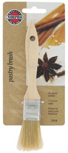 Norpro 2014 Pastry Brush, 1-Inch, Brown (Hair Brush Sheet compare prices)