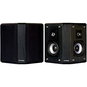 Fluance AVBP2 Home Theater Bipolar Surround Sound Satellite