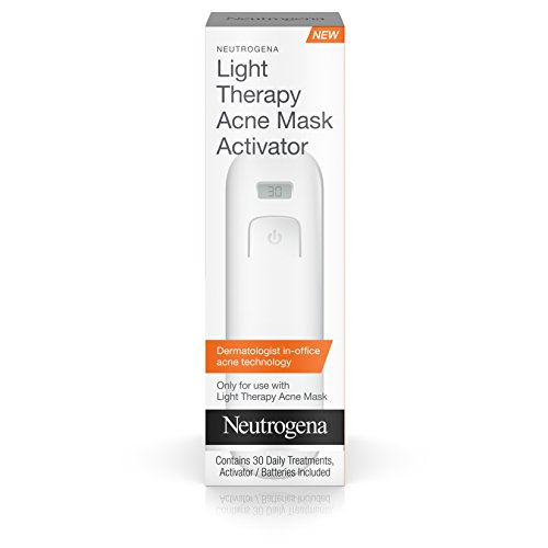 뉴트로지나 LED 마스크 액티베이터 360회 (30회용 * 12팩) Neutrogena Light Therapy Acne Mask Activator (pack of 12)
