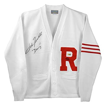 John Travolta Autographed Grease Rydell Letterman Sweater with Danny