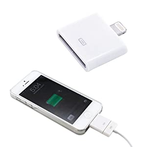 30 pin to 8 Pin Converter Adapter For iPhone 5 iPad 4 iPad Mini iPod Touch 5 Nano 7