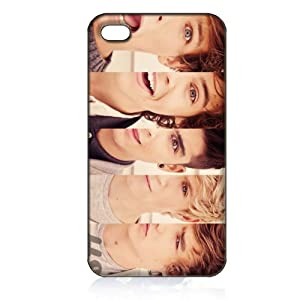 One Direction Hard Case Cover Skin for Iphone 4 4s Iphone4 At&t Sprint Verizon Retail Packing by Shippingtime:7-14days