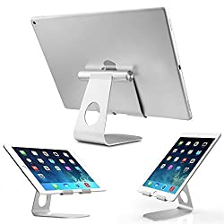Pasonomi® iPad Pro Tablet Holder Stand, Multi-Angle Aluminum Stand for iPad Pro, iPad Air 2 / 1, iPad Mini and Samsung Tablets, kindle tablets