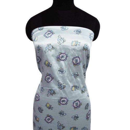 Gray raso de tela Manualidades Vajilla Imprimir Cosa cubre el vestido Decoración del hogar acolchar Elaboración de tejidos por 1 Patio