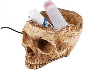 Novelty USB Skull Hub - Skeleton Head - 4 Port High Speed 2.0 SPLITTER MULTI ADAPTER PC LAPTOP NEW