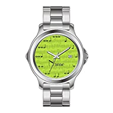 buy Txmy Personalized Men'S Watch Fashion Waterproof Watch Lime Green Music Notes Personalized Mayth Watch