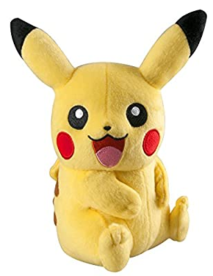 TOMY T18365 Trainer's Choice Small Plush Pikachu Plush by TOMY