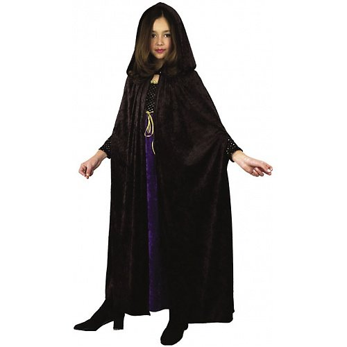 Panne Velvet Child Cloak Costume