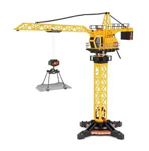 amazon   toyrific mega machines super tower crane toys amp games