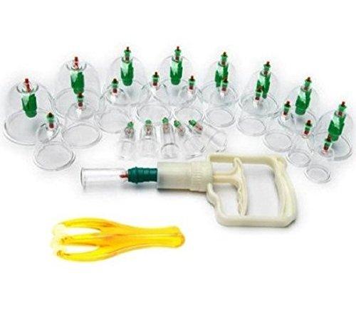 健康 管理 に 自宅 で 手軽 に カッピング 吸い玉 吸圧器 & マッサージ ローラー セット
