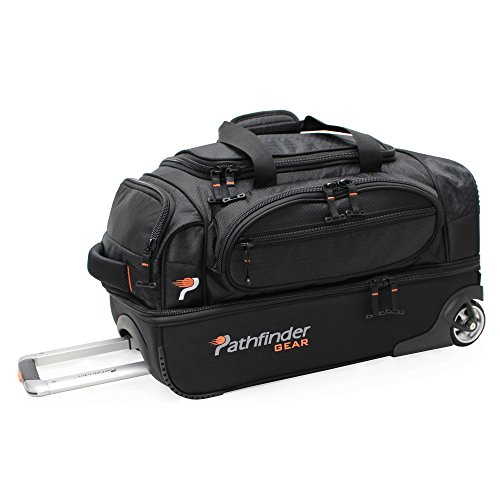 pathfinder-gear-22-inch-rolling-drop-bottom-duffel-black-one-size