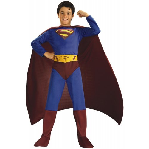 Superman Returns Child Halloween Costume Size 8-10