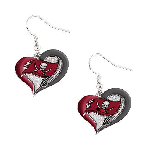 Buccaneers Earrings, Tampa Bay Buccaneers Earrings, Buccaneer Earrings