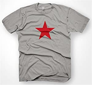 THE RED STAR T-SHIRT S-XXL KULT D.G. NEU REVOLUTION
