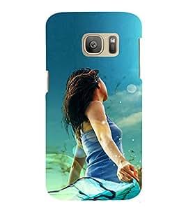 EPICCASE Today's girl Mobile Back Case Cover For Samsung Galaxy S7 Edge (Designer Case)