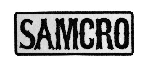 SOA SAMCRO Embroidered Iron On Patch