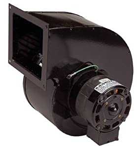 A.O. Smith 9491 500 CFM, 1/10 hp, 1550 RPM, 115 Volts, Shaded Pole, 2 Speed Centrifugal Blower