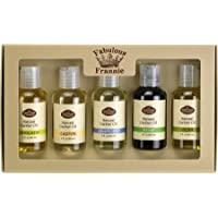 Carrier Oil 5 Pack #2 - All Natural ingredients and 100% Pure Essential oils - Includes Avocado, Castor, Grapeseed, Hemp and Olive Carrier Oils