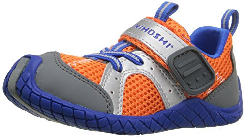 Tsukihoshi Marina Water-Friendly Sneaker (Toddler/Little Kid/Big Kid), Orange/Blue, 8.5 M US Toddler