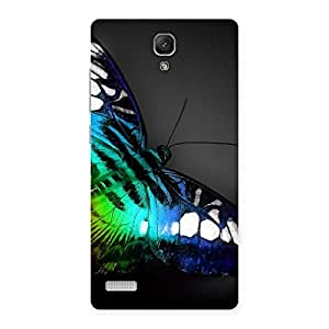 Impressive Butterflie Power Multicolor Back Case Cover for Redmi Note Prime