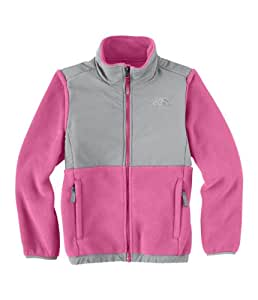The North Face Denali Jacket - Girl's ChaCha Pink/Metallic Silver XX-Small