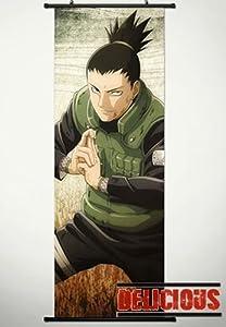 Home Decor Japanese Anime Naruto Cosplay Wall Scroll Poster Nara Shikamaru 17.7 X 49.2 Inches-P104450001