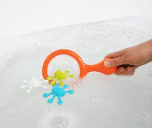 Boon Water Bugs Floating Bath Toys with Net - 1
