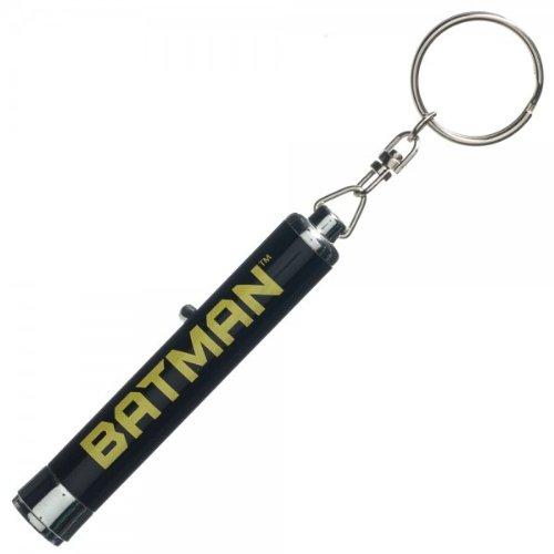 Batman Projector Logo Flashlight Keychain