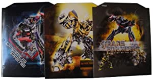 Transformers Set of Three Folders