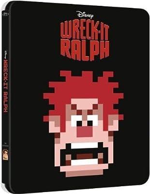 Wreck-It Ralph Exclusive Steelbook [Blu-Ray Disney] NEW
