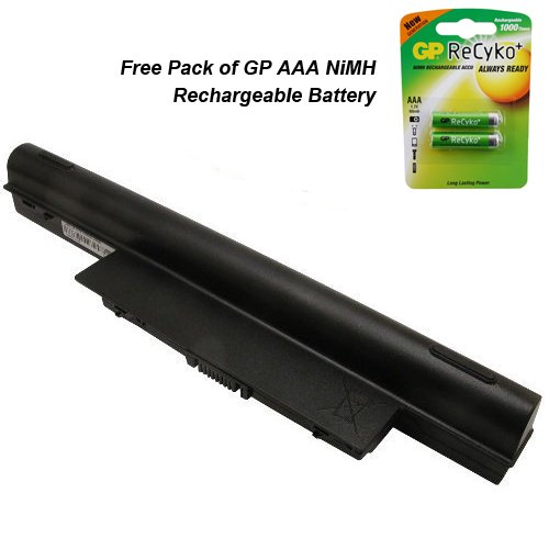 Gateway NV53A82U Laptop Battery - Premium Powerwarehouse Battery 9 Cell