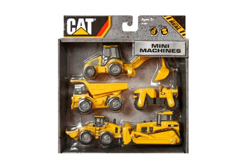 Toystate Caterpillar Construction Mini Machine