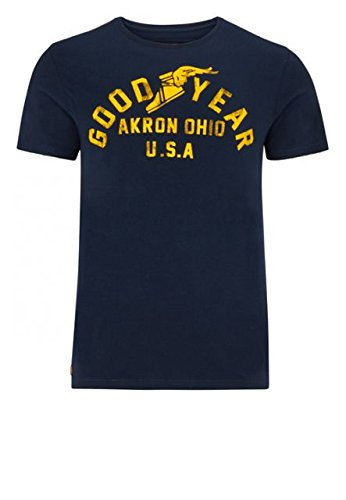 Good Year T-Shirt arch wood - blu scuro, nuovo multicolore L